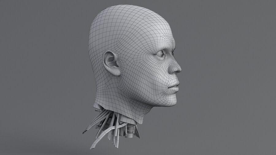 人間の頭の解剖学 royalty-free 3d model - Preview no. 41
