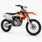 Moto KTM 450 SX-F 2020 Motocross 3d model
