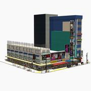 日本の街並み秋葉原0001 3d model