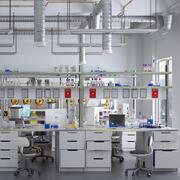 Scientific Laboratory HD 3d model