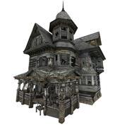 Fantasie huis 3d model