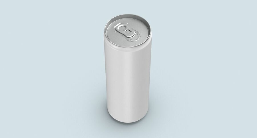 355ml  Soda Can  Mockup royalty-free 3d model - Preview no. 7