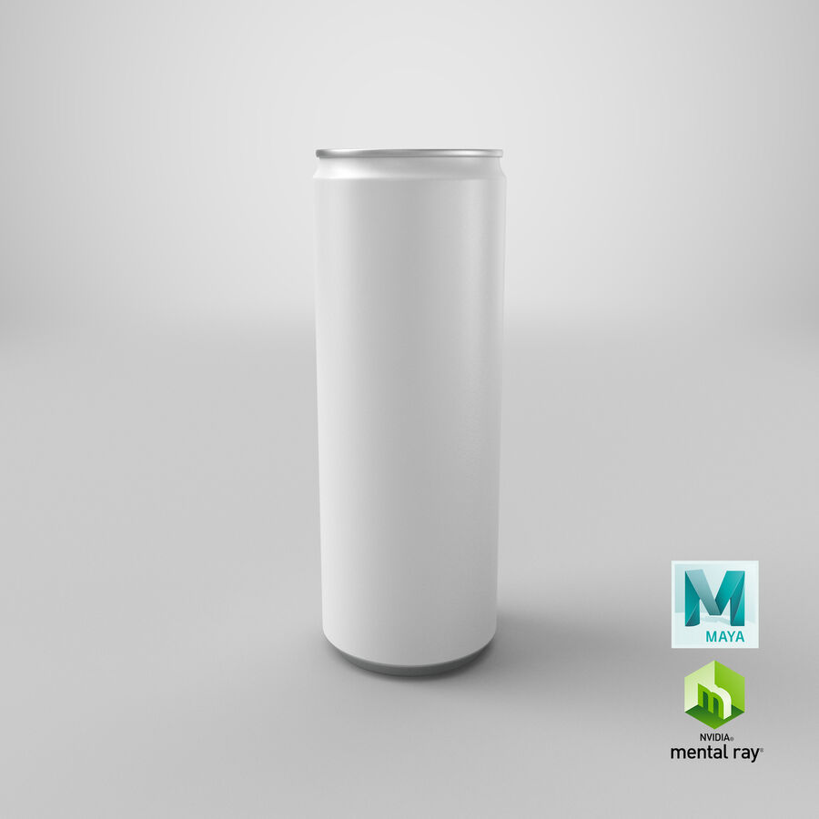 355ml  Soda Can  Mockup royalty-free 3d model - Preview no. 20