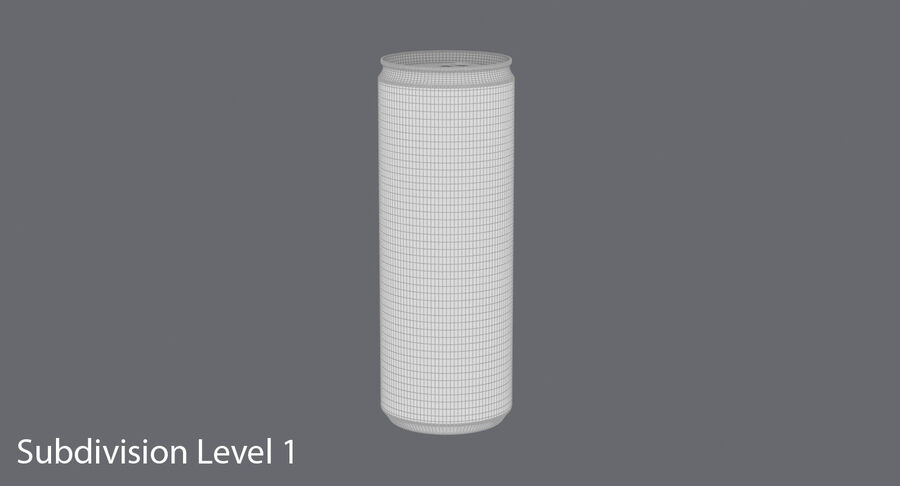 355ml  Soda Can  Mockup royalty-free 3d model - Preview no. 17