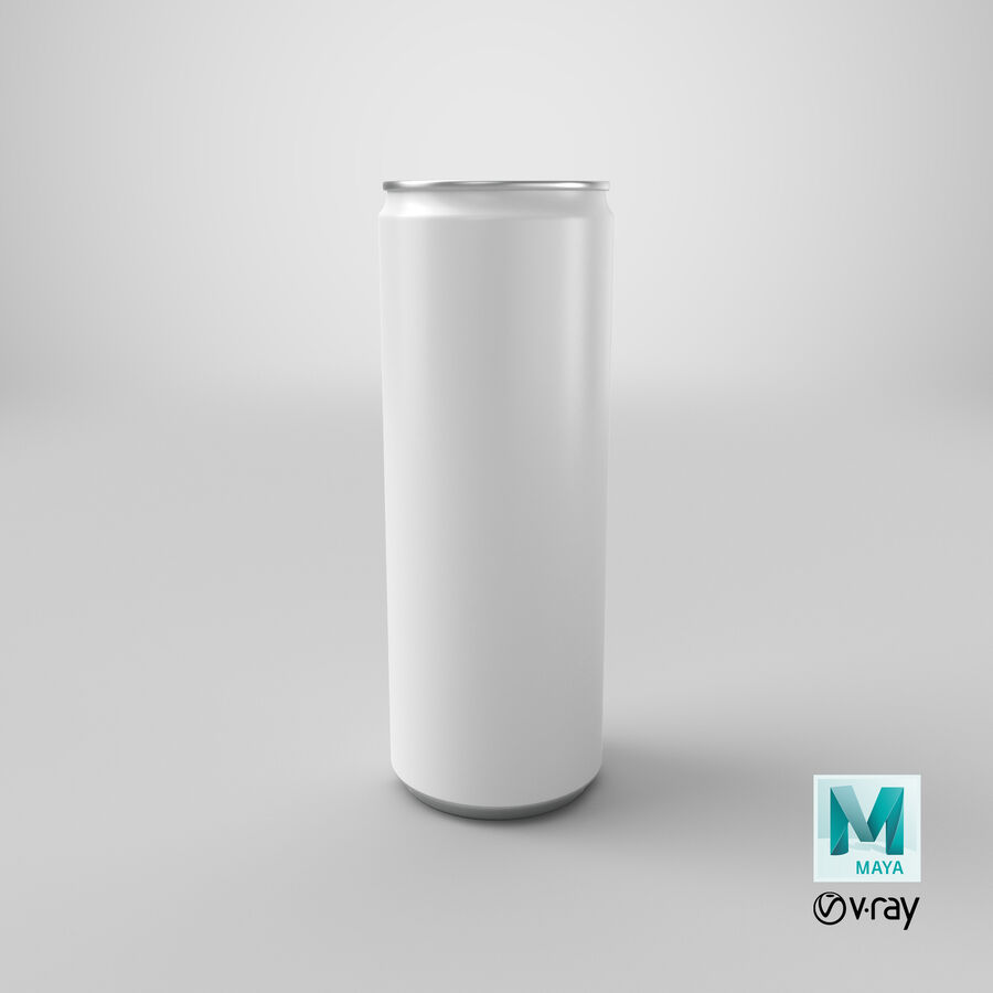 355ml  Soda Can  Mockup royalty-free 3d model - Preview no. 19