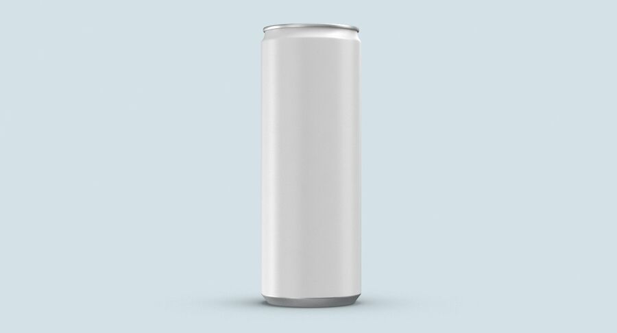 355ml  Soda Can  Mockup royalty-free 3d model - Preview no. 8
