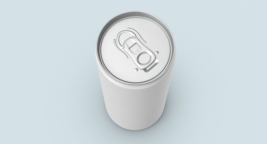 355ml  Soda Can  Mockup royalty-free 3d model - Preview no. 4