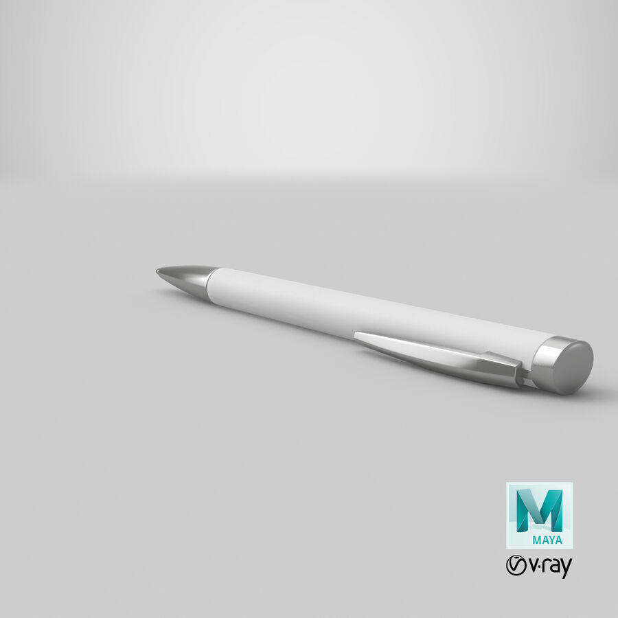 Promotional Ink Pen Mockup 01 02 royalty-free 3d model - Preview no. 20