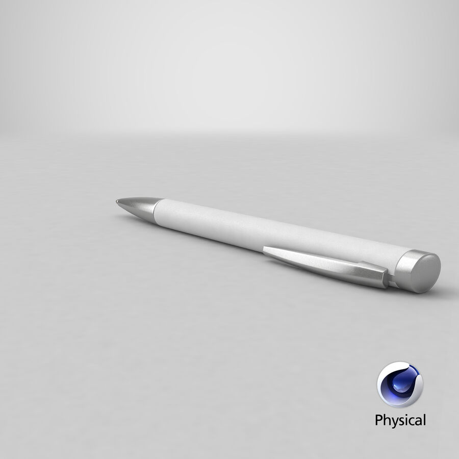 Promotional Ink Pen Mockup 01 02 royalty-free 3d model - Preview no. 26