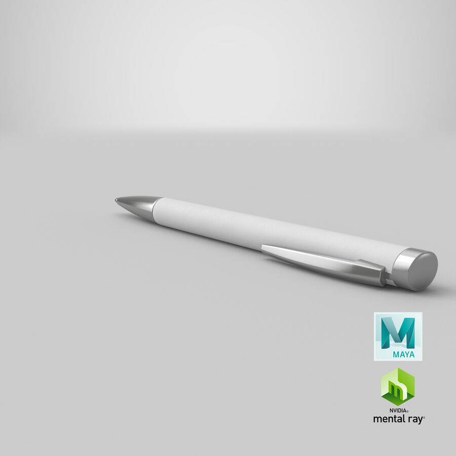 Promotional Ink Pen Mockup 01 02 royalty-free 3d model - Preview no. 21