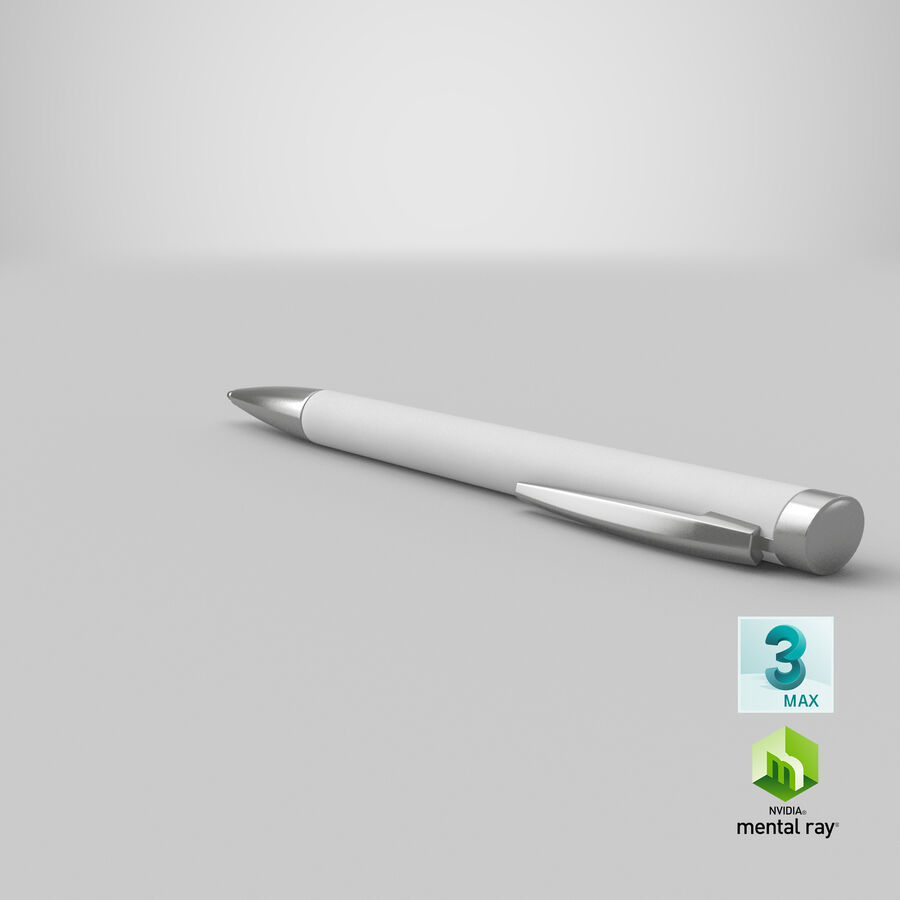 Promotional Ink Pen Mockup 01 02 royalty-free 3d model - Preview no. 23