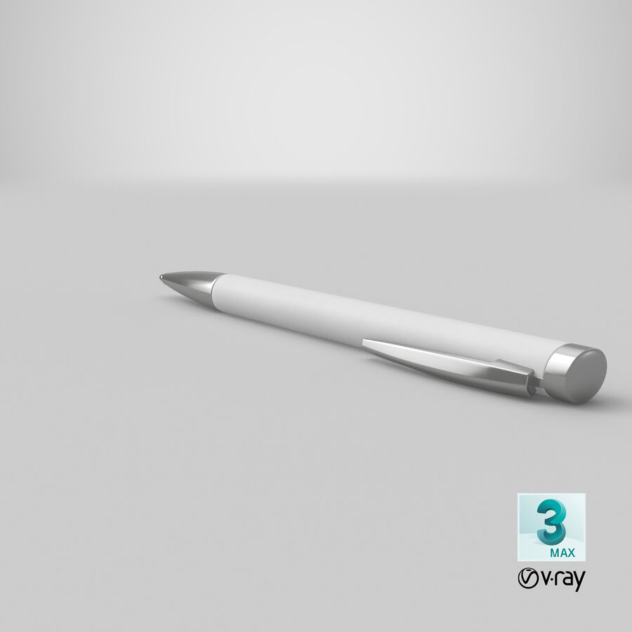 Promotional Ink Pen Mockup 01 02 royalty-free 3d model - Preview no. 22