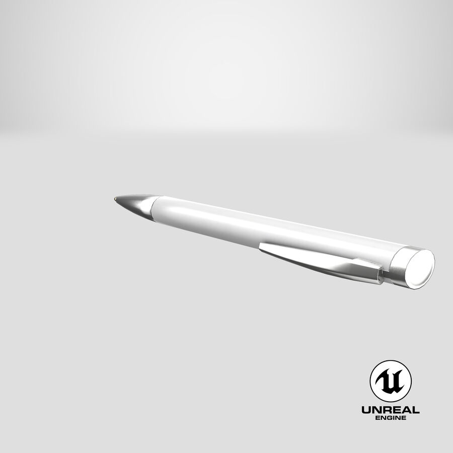 Promotional Ink Pen Mockup 01 02 royalty-free 3d model - Preview no. 24
