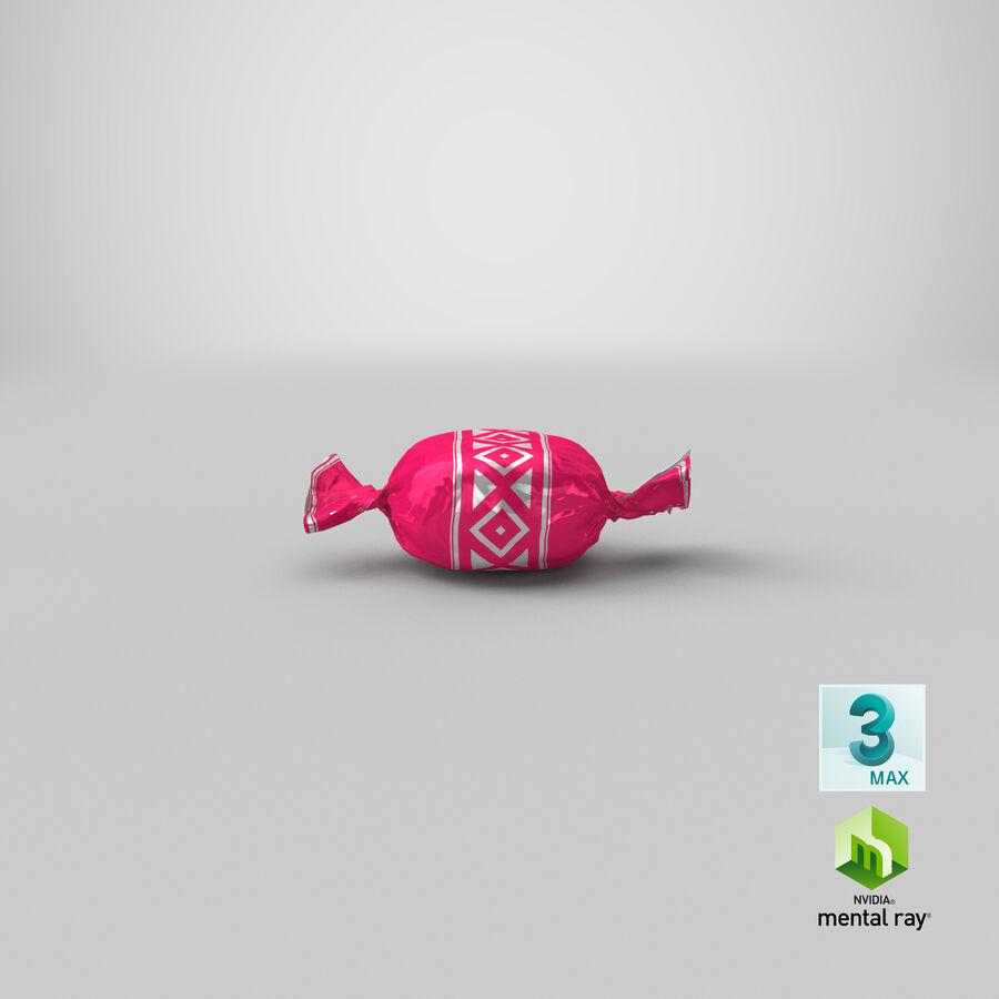 Padrão de doces duros rosa royalty-free 3d model - Preview no. 22