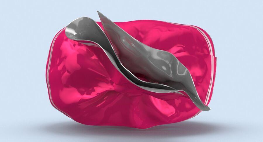 Padrão de doces duros rosa royalty-free 3d model - Preview no. 7