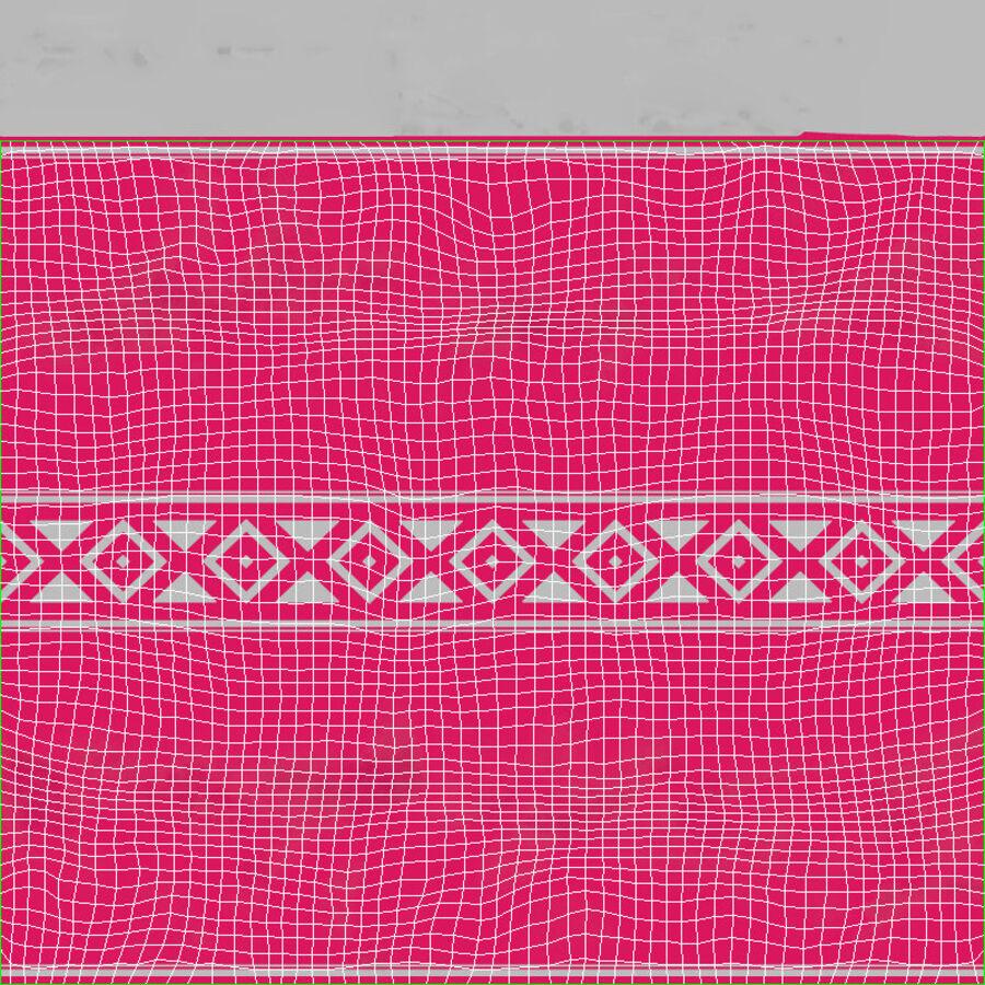 Padrão de doces duros rosa royalty-free 3d model - Preview no. 18