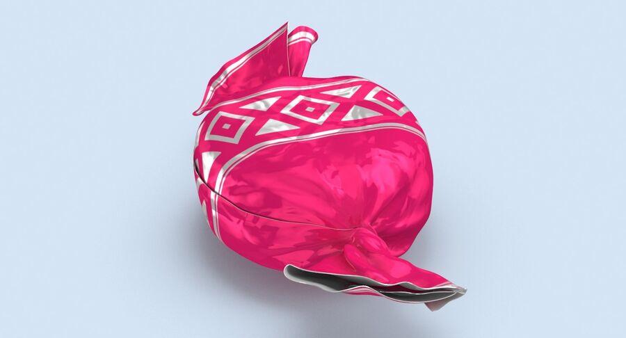 Padrão de doces duros rosa royalty-free 3d model - Preview no. 4