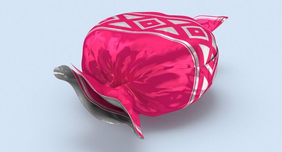 Padrão de doces duros rosa royalty-free 3d model - Preview no. 8