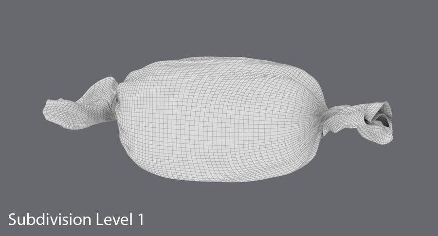 Doces duros rosa pontos royalty-free 3d model - Preview no. 17