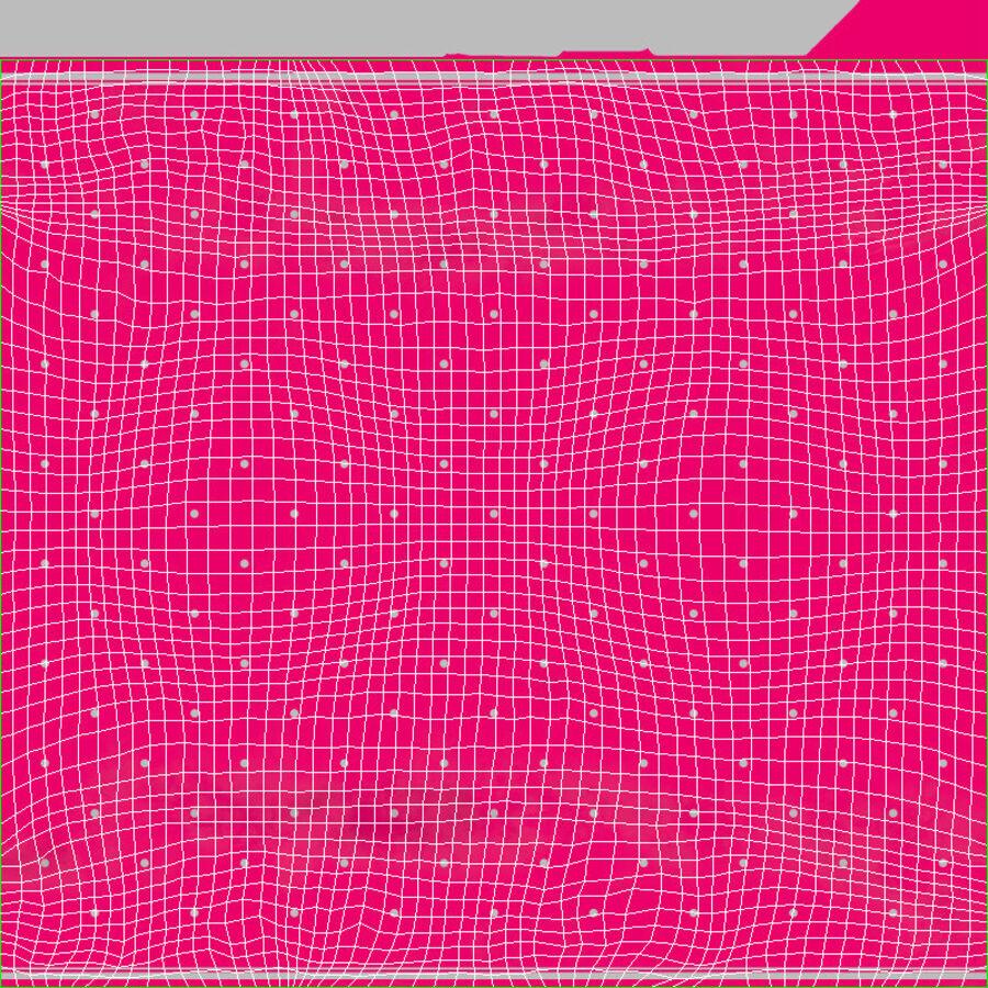 Doces duros rosa pontos royalty-free 3d model - Preview no. 18