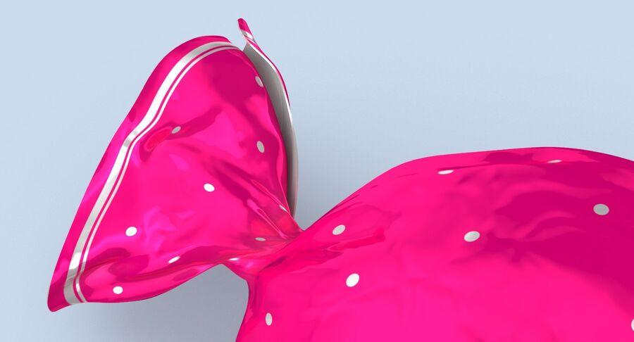 Doces duros rosa pontos royalty-free 3d model - Preview no. 9