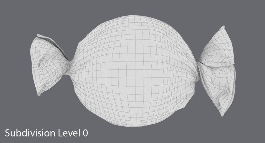 Doces duros rosa pontos royalty-free 3d model - Preview no. 13