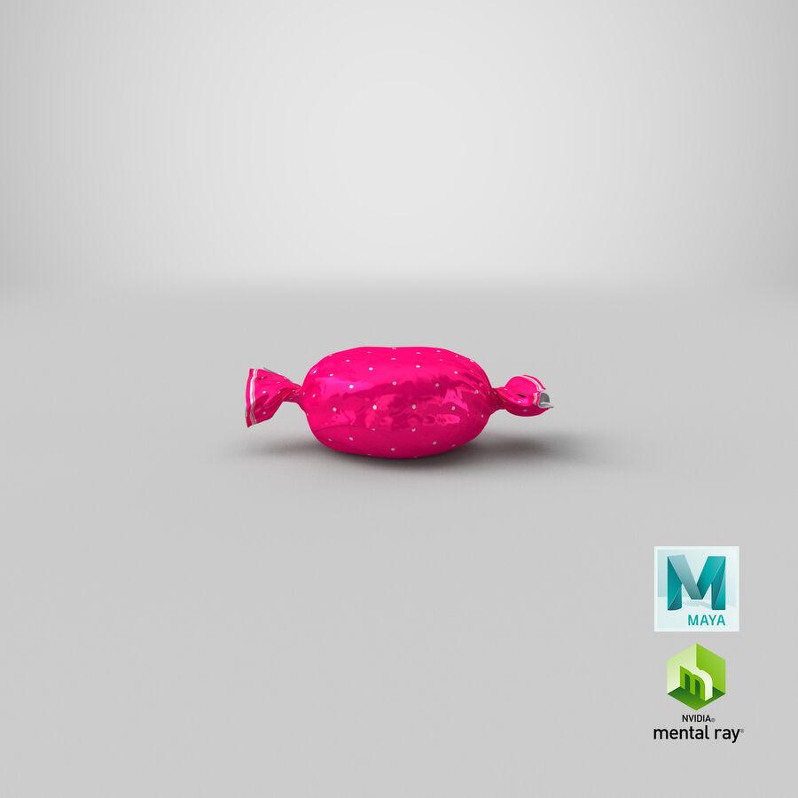 Doces duros rosa pontos royalty-free 3d model - Preview no. 20