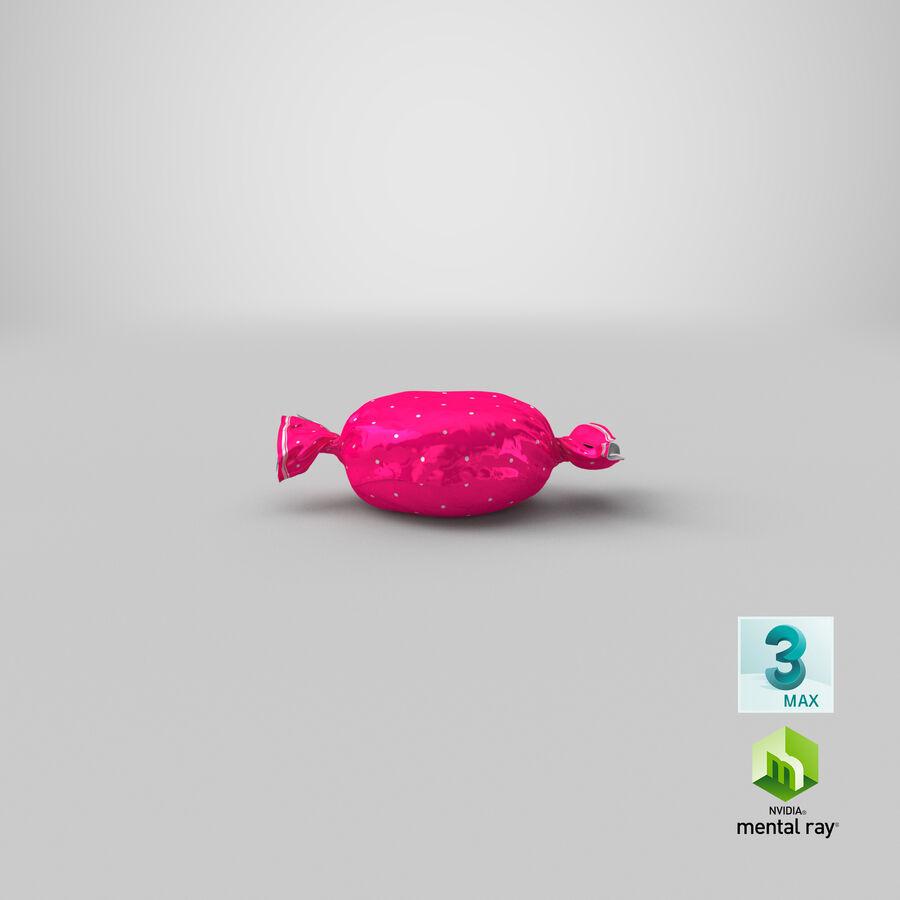 Doces duros rosa pontos royalty-free 3d model - Preview no. 22