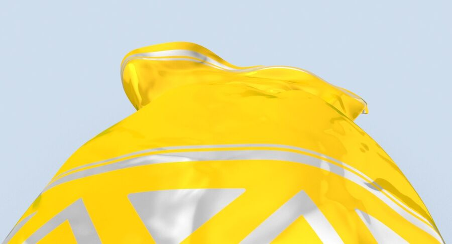 Doces Duros Amarelo royalty-free 3d model - Preview no. 10