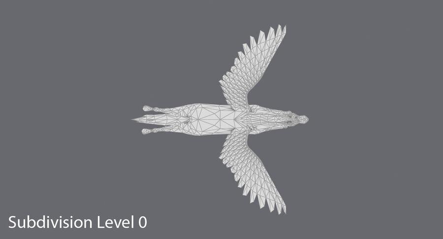 페가수스 비행 royalty-free 3d model - Preview no. 13
