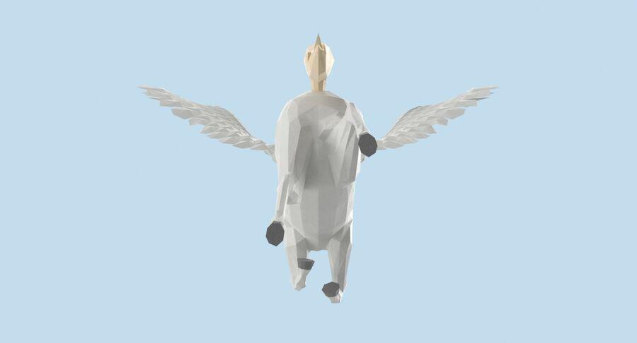 Pegasus Yetiştirme royalty-free 3d model - Preview no. 11