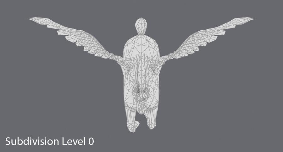 Pegasus Yetiştirme royalty-free 3d model - Preview no. 13