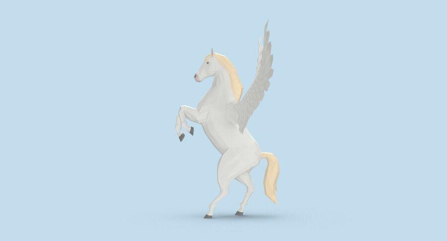 Pegasus Yetiştirme royalty-free 3d model - Preview no. 7