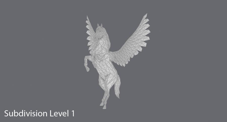 Pegasus Yetiştirme royalty-free 3d model - Preview no. 15