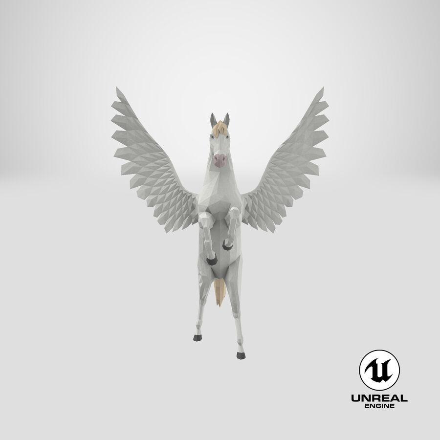 Pegasus Yetiştirme royalty-free 3d model - Preview no. 24
