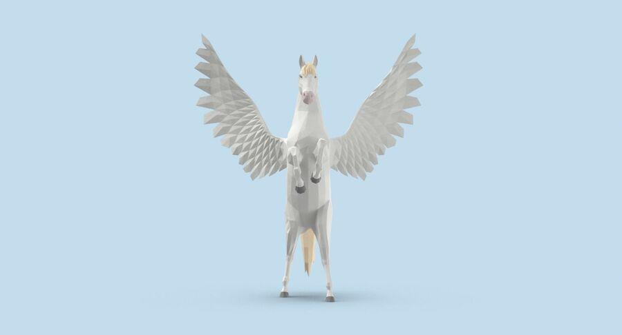 Pegasus Yetiştirme royalty-free 3d model - Preview no. 8