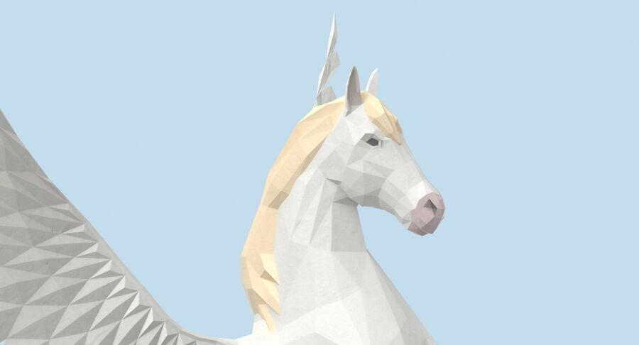 Pegasus Yetiştirme royalty-free 3d model - Preview no. 9