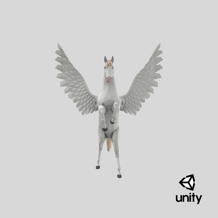 Pegasus Yetiştirme royalty-free 3d model - Preview no. 25