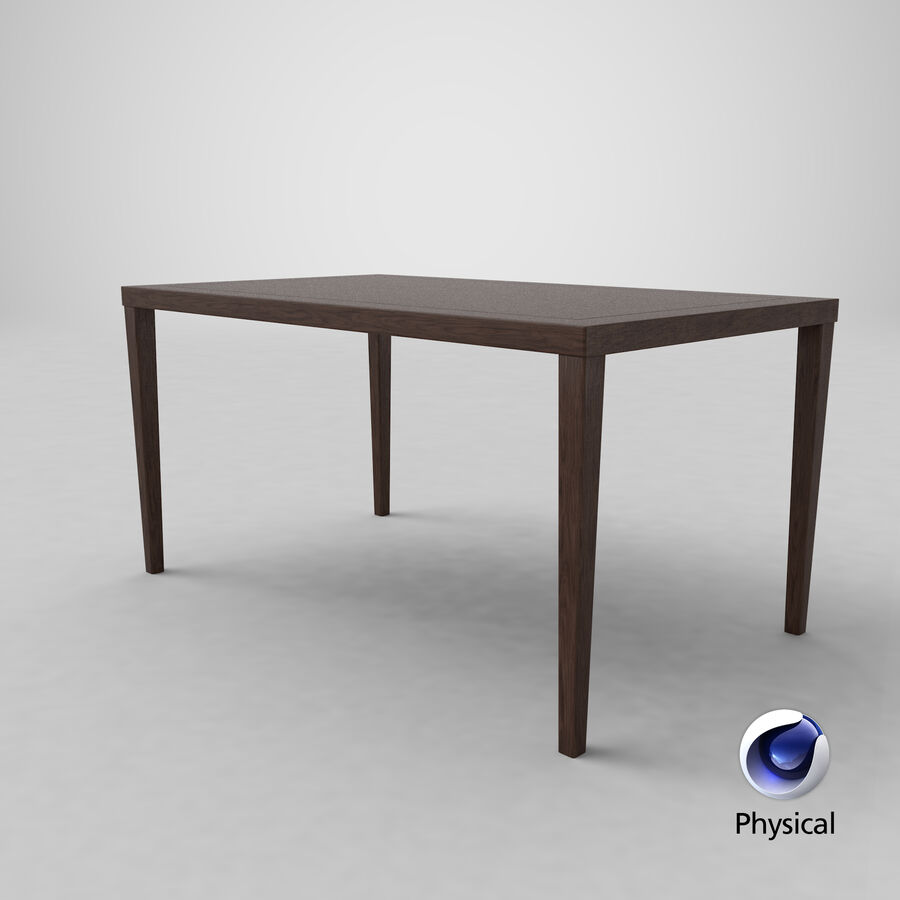 사무용 책상 royalty-free 3d model - Preview no. 5