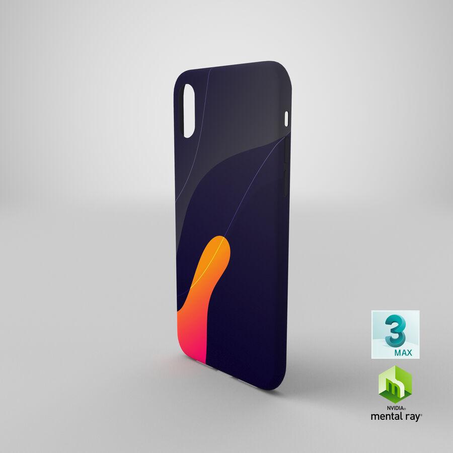 iPhone XS Kılıfı royalty-free 3d model - Preview no. 18