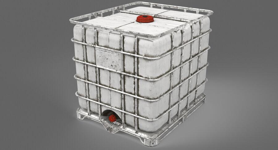 Zbiornik na wodę royalty-free 3d model - Preview no. 5