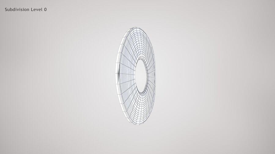 Human Iris royalty-free 3d model - Preview no. 10