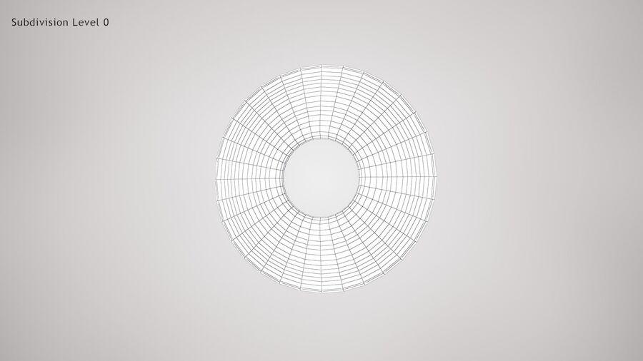 Human Iris royalty-free 3d model - Preview no. 9