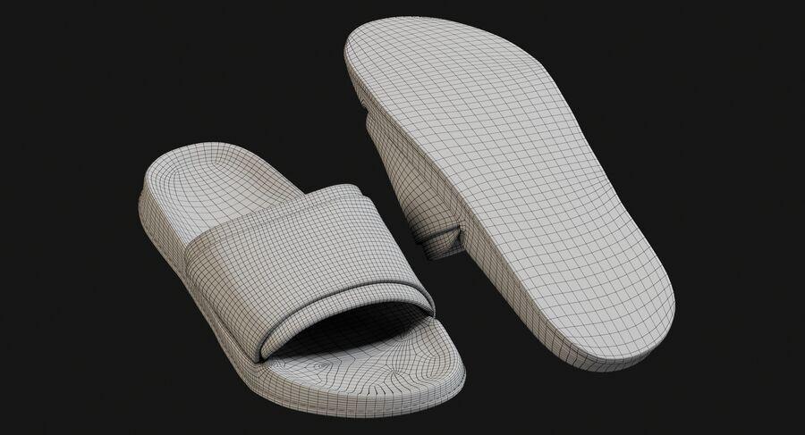 Flip Flops royalty-free 3d model - Preview no. 19