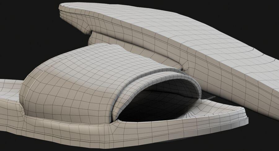 Flip Flops royalty-free 3d model - Preview no. 21
