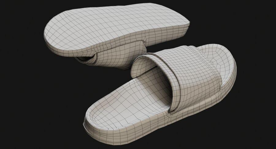 Flip Flops royalty-free 3d model - Preview no. 28
