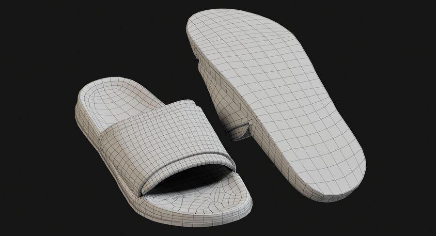 Flip Flops royalty-free 3d model - Preview no. 18