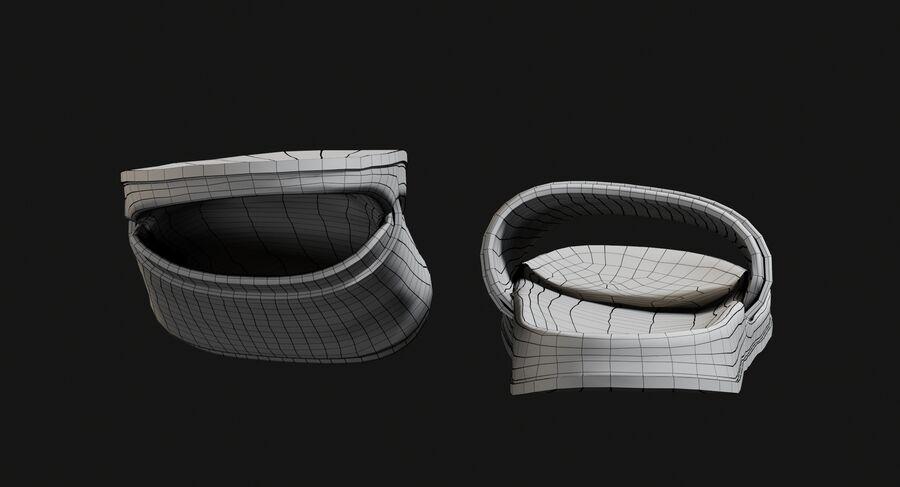 Flip Flops royalty-free 3d model - Preview no. 26