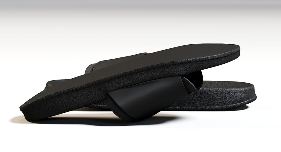 Flip Flops royalty-free 3d model - Preview no. 17
