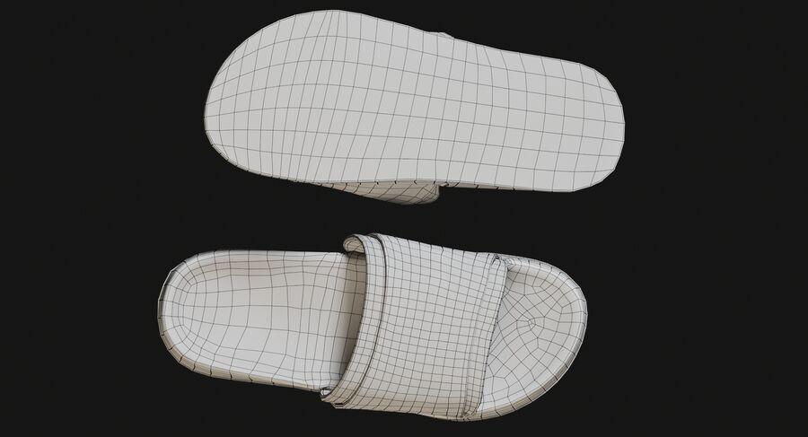 Flip Flops royalty-free 3d model - Preview no. 22